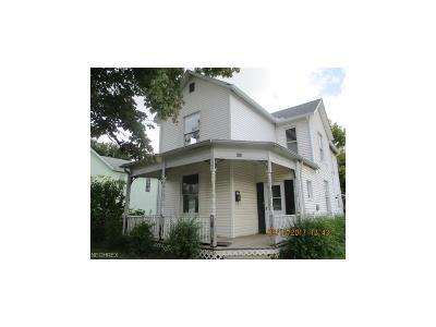 Guernsey County Single Family Home For Sale: 423 South 9th St