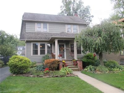 Elyria Single Family Home For Sale: 331 Denison Ave