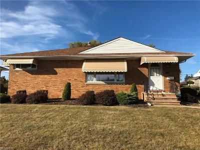 Parma Single Family Home For Sale: 1100 Maple Dr