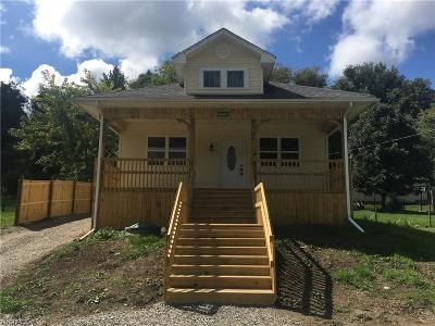 Single Family Home For Sale: 5495 Hoover Ave