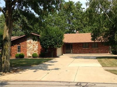 Parma Single Family Home For Sale: 6500 Ely Vista Dr