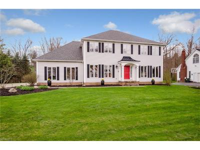 Chagrin Falls Single Family Home For Sale: 50 Wilding Chase