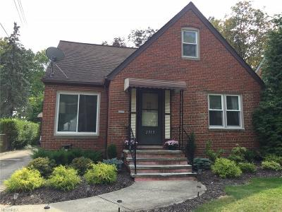 Parma Single Family Home For Sale: 2313 Lorimer Ave