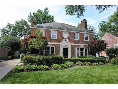 Shaker Heights Single Family Home For Sale: 22160 Calverton Rd