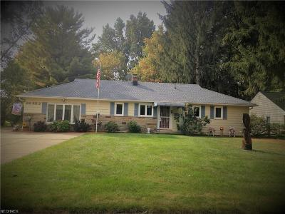Olmsted Falls Single Family Home For Sale: 26283 Cranage Rd