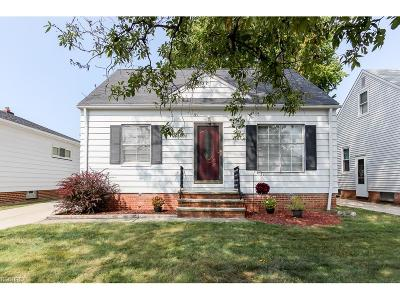 Parma Single Family Home For Sale: 2918 Brookdale Ave