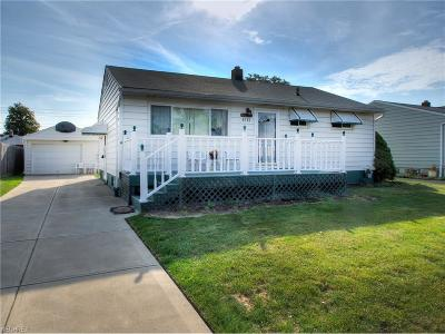 Brook Park Single Family Home For Sale: 5713 Champaign Ave