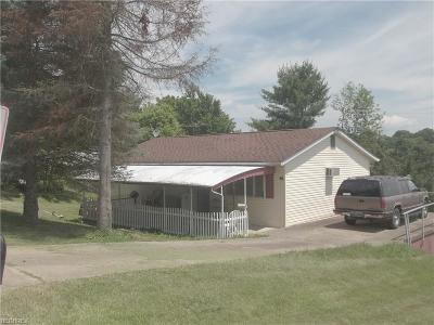 Guernsey County Single Family Home For Sale: 110 Virginia Dr