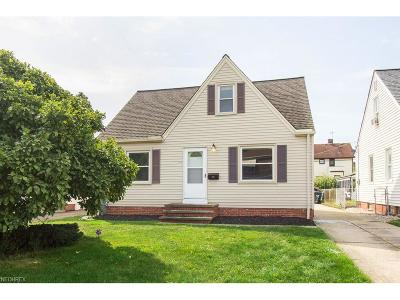 Parma Single Family Home For Sale: 5715 Gerald Ave