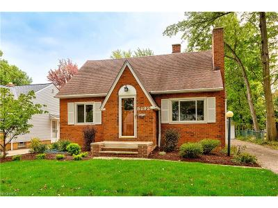 Lyndhurst Single Family Home For Sale: 5192 Lynd Ave