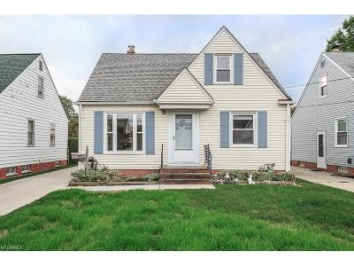Wickliffe Single Family Home For Sale: 30036 Elgin Rd