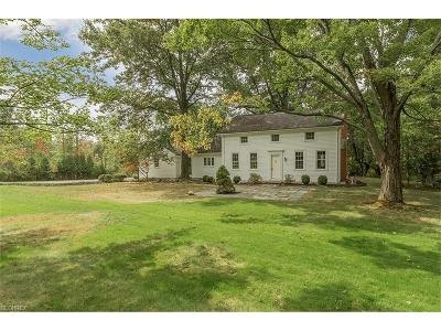 Gates Mills Single Family Home For Sale: 544 Battles Rd