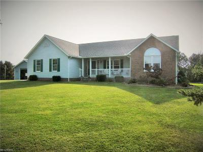 Guernsey County Single Family Home For Sale: 74477 Broadhead Rd