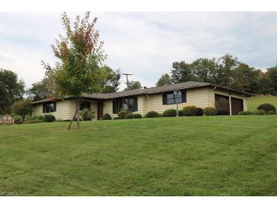 Guernsey County Single Family Home For Sale: 59051 Marietta Rd