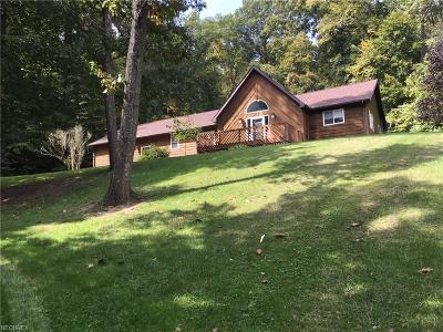 Guernsey County Single Family Home For Sale: 12780 Narrows Rd