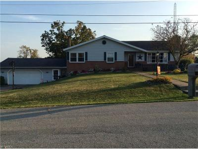 Guernsey County Single Family Home For Sale: 9408 Liberty Rd