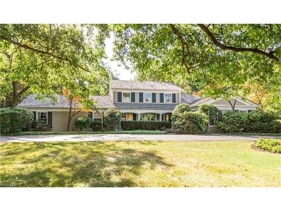 Pepper Pike Single Family Home For Sale: 32200 Gates Mills Blvd