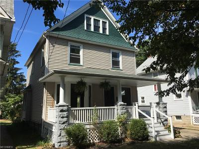 Lakewood Single Family Home For Sale: 1356 Saint Charles Ave