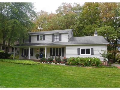 Chagrin Falls Single Family Home For Sale: 17400 Tanglewood Ct