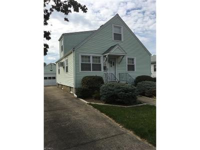 Elyria Single Family Home For Sale: 244 Olive St