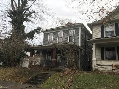 Cambridge OH Single Family Home For Sale: $67,500