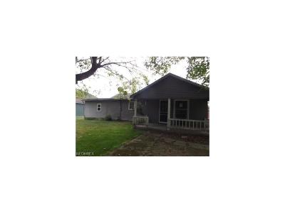 Guernsey County Single Family Home For Sale: 66611 Eighth St Rd