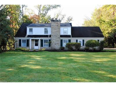 Pepper Pike Single Family Home For Sale: 30630 Shaker Blvd