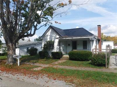 Muskingum County Single Family Home For Sale: 610 Chestnut St