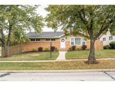 Parma Heights Single Family Home For Sale: 6639 Kingsdale Blvd