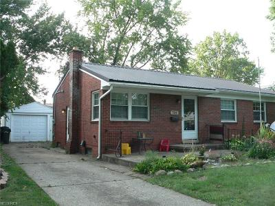 Elyria Single Family Home For Sale: 704 Georgetown Ave