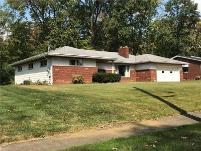 Girard Single Family Home For Sale: 1422 Tomilu Dr