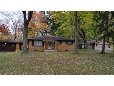 Warren Single Family Home For Sale: 4276 Parkman Rd Northwest