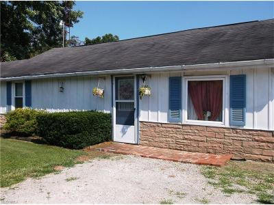 Marietta OH Single Family Home For Sale: $59,000
