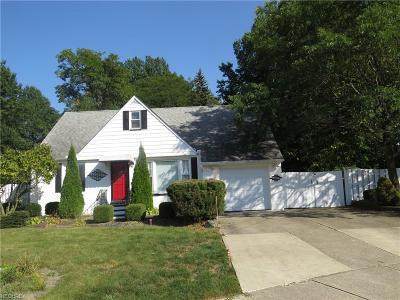 Euclid Single Family Home For Sale: 1809 Karen Dr