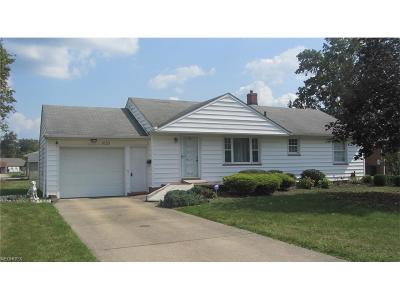 Girard Single Family Home For Sale: 1033 Beechwood Dr