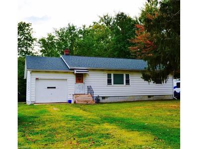 Ashtabula County Single Family Home For Sale: 3527 Austin Rd