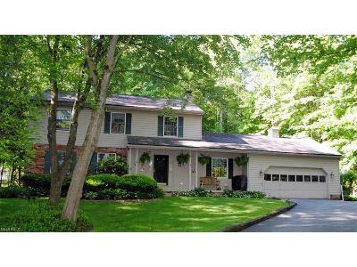 Chagrin Falls Single Family Home For Sale: 8505 Lucerne Dr