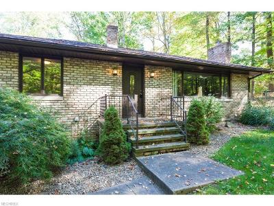 Copley Single Family Home For Sale: 1105 South Hametown Rd