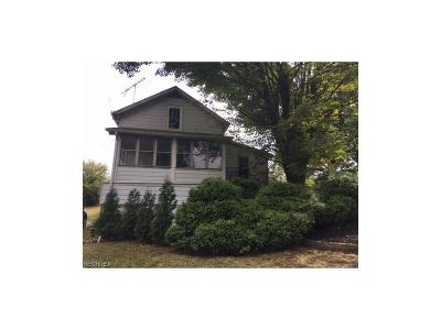 Salem OH Single Family Home For Sale: $37,900