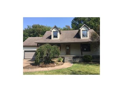 Sebring OH Single Family Home For Sale: $74,900