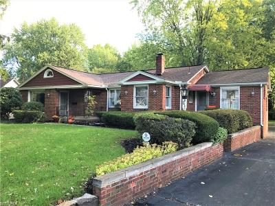 Youngstown Single Family Home For Sale: 3011 Kirkhaven Dr
