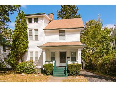Cleveland Heights Single Family Home For Sale: 3399 Berkeley Rd