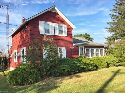 Geauga County Single Family Home For Sale: 16156 Shedd Rd