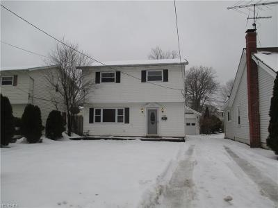 Eastlake Single Family Home For Sale: 154 Plymouth Rd