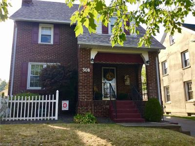 Mcdonald Single Family Home For Sale: 308 Indiana Ave