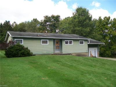 Zanesville Single Family Home For Sale: 3245 North Willow