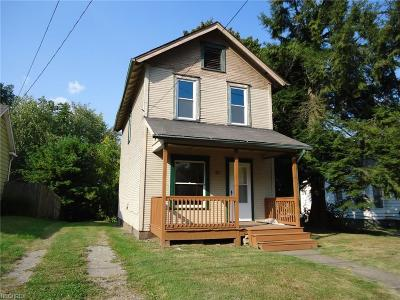 Struthers Single Family Home For Sale: 39 Spring St