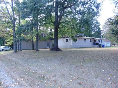 Mantua Single Family Home For Sale: 5276 Streeter Rd