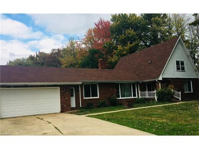 Leroy Single Family Home For Sale: 14711 Trask Rd
