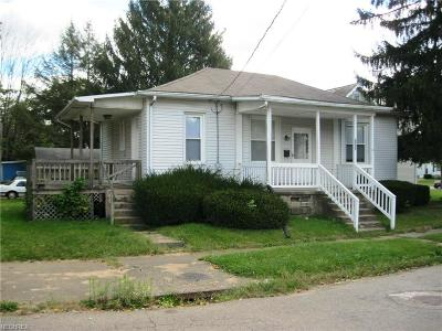 Zanesville Single Family Home For Sale: 1126 Melick Ave